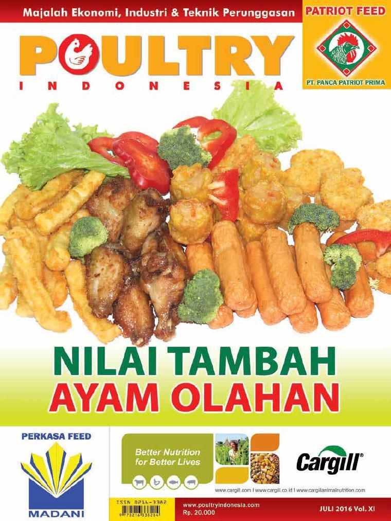 Majalah Digital POULTRY Indonesia Juli 2016