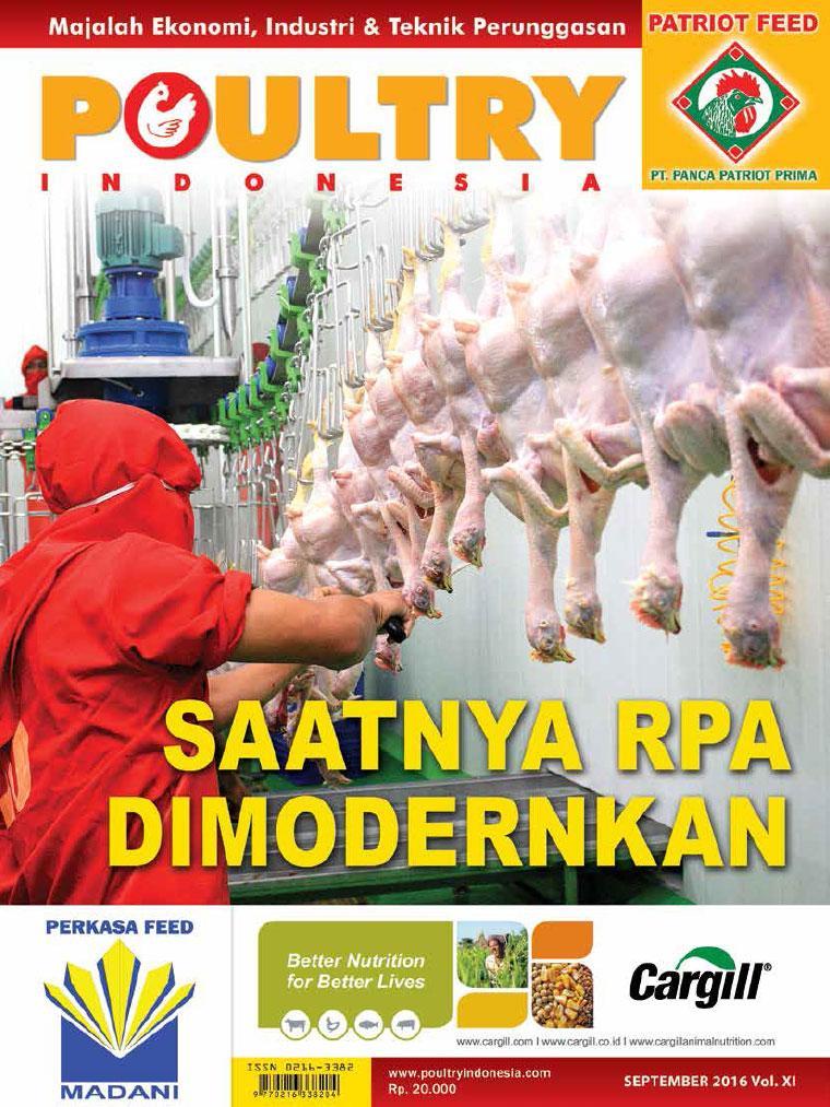Majalah Digital POULTRY Indonesia September 2016