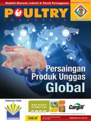 POULTRY Indonesia Magazine Cover February 2017