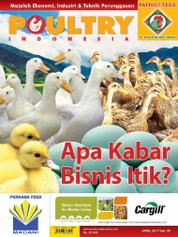 POULTRY Indonesia Magazine Cover April 2017