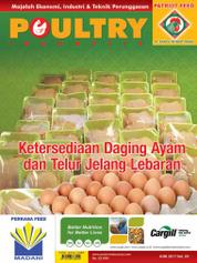 POULTRY Indonesia Magazine Cover June 2017