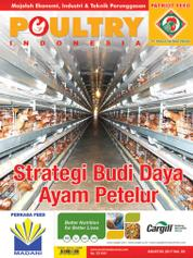 POULTRY Indonesia Magazine Cover August 2017