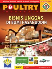 POULTRY Indonesia Magazine Cover September 2017