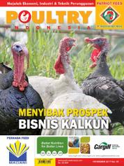 Cover Majalah POULTRY Indonesia November 2017