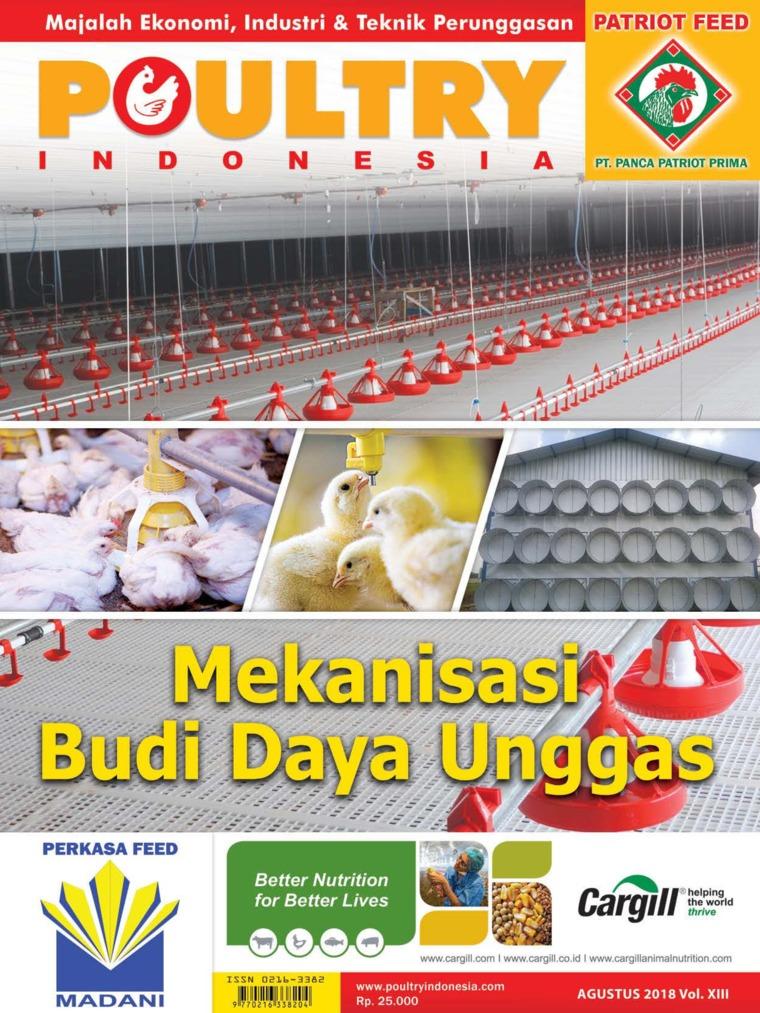 Majalah Digital POULTRY Indonesia Agustus 2018