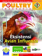 Cover Majalah POULTRY Indonesia April 2018