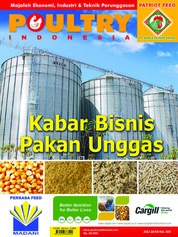 POULTRY Indonesia Magazine Cover July 2018