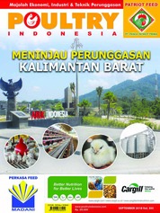 POULTRY Indonesia Magazine Cover September 2018