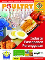 POULTRY Indonesia Magazine Cover November 2018