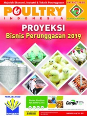 POULTRY Indonesia Magazine Cover January 2019