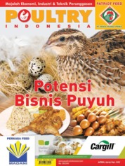 POULTRY Indonesia Magazine Cover April 2019