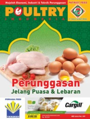 POULTRY Indonesia Magazine Cover May 2019