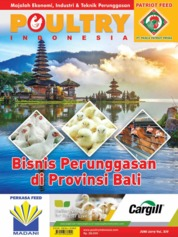 POULTRY Indonesia Magazine Cover June 2019