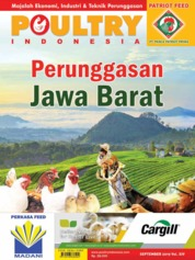 POULTRY Indonesia Magazine Cover September 2019