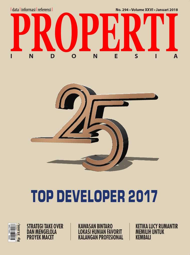 Majalah Digital PROPERTI Indonesia Januari 2018