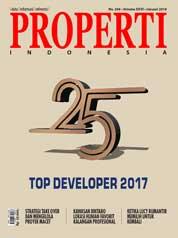 Cover Majalah PROPERTI Indonesia Januari 2018