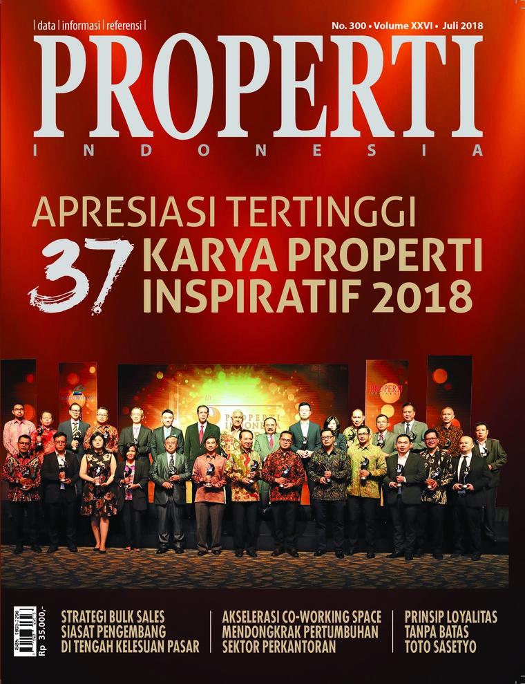 Majalah Digital PROPERTI Indonesia Juli 2018