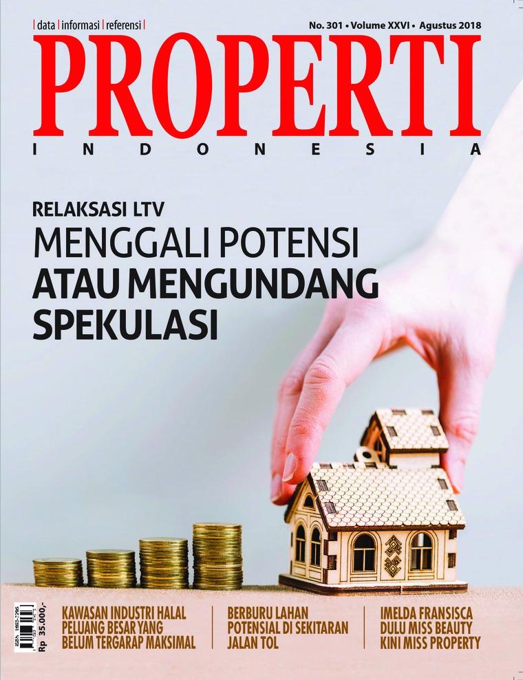 Majalah Digital PROPERTI Indonesia Agustus 2018