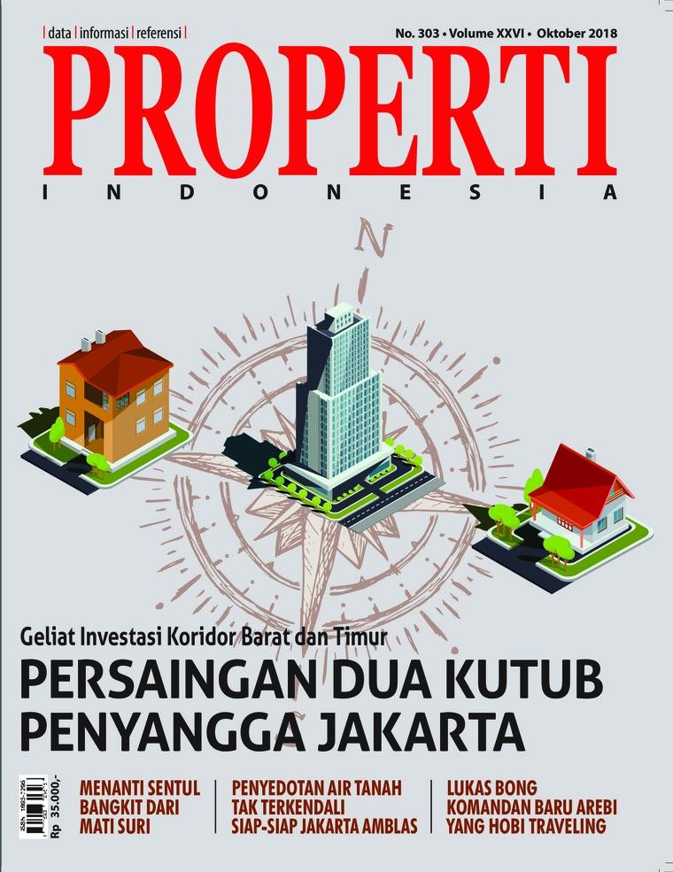 Majalah Digital PROPERTI Indonesia Oktober 2018