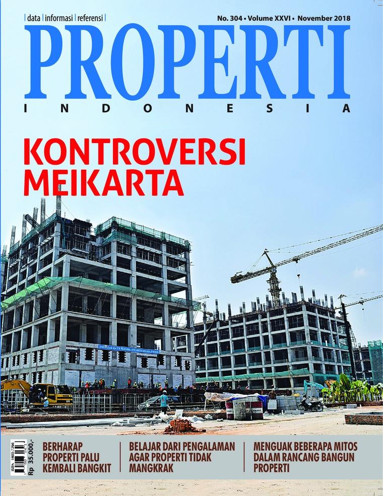 Majalah Digital PROPERTI Indonesia November 2018