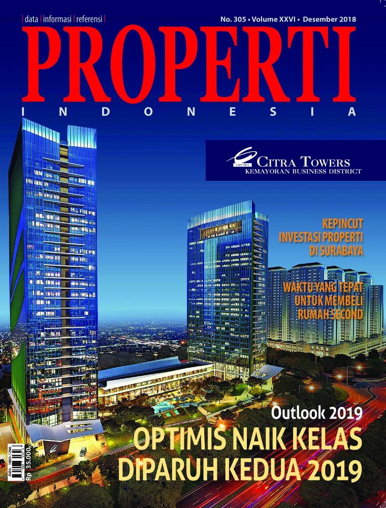 Majalah Digital PROPERTI Indonesia Desember 2018
