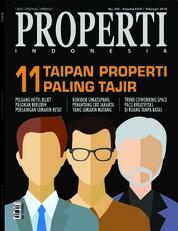 Cover Majalah PROPERTI Indonesia Februari 2018