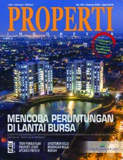 Cover Majalah PROPERTI Indonesia April 2018