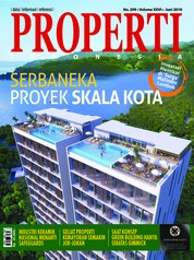 Cover Majalah PROPERTI Indonesia Juni 2018