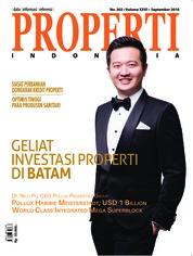 Cover Majalah PROPERTI Indonesia September 2018