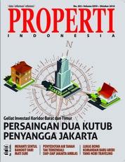 Cover Majalah PROPERTI Indonesia Oktober 2018