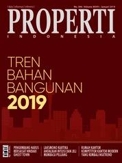Cover Majalah PROPERTI Indonesia Januari 2019