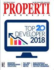 PROPERTI Indonesia Magazine Cover March 2019