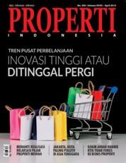 Cover Majalah PROPERTI Indonesia April 2019