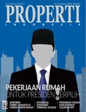 Cover Majalah PROPERTI Indonesia Mei 2019