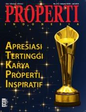 Cover Majalah PROPERTI Indonesia Juli 2019