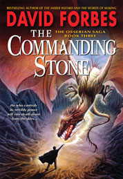 Cover The Commanding Stone oleh David Forbes