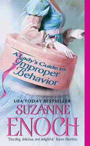 Cover A Lady's Guide to Improper Behavior oleh Suzanne Enoch