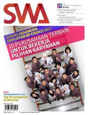 Cover Majalah SWA ED 25 Desember 2017