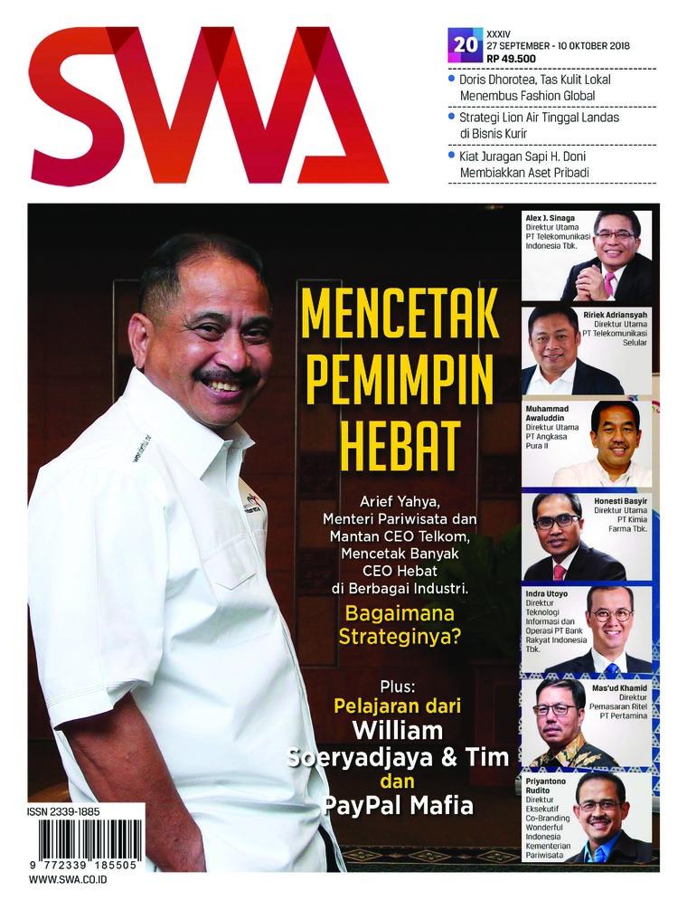 Majalah Digital SWA ED 20 Oktober 2018