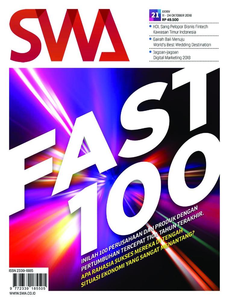 Majalah Digital SWA ED 21 Oktober 2018