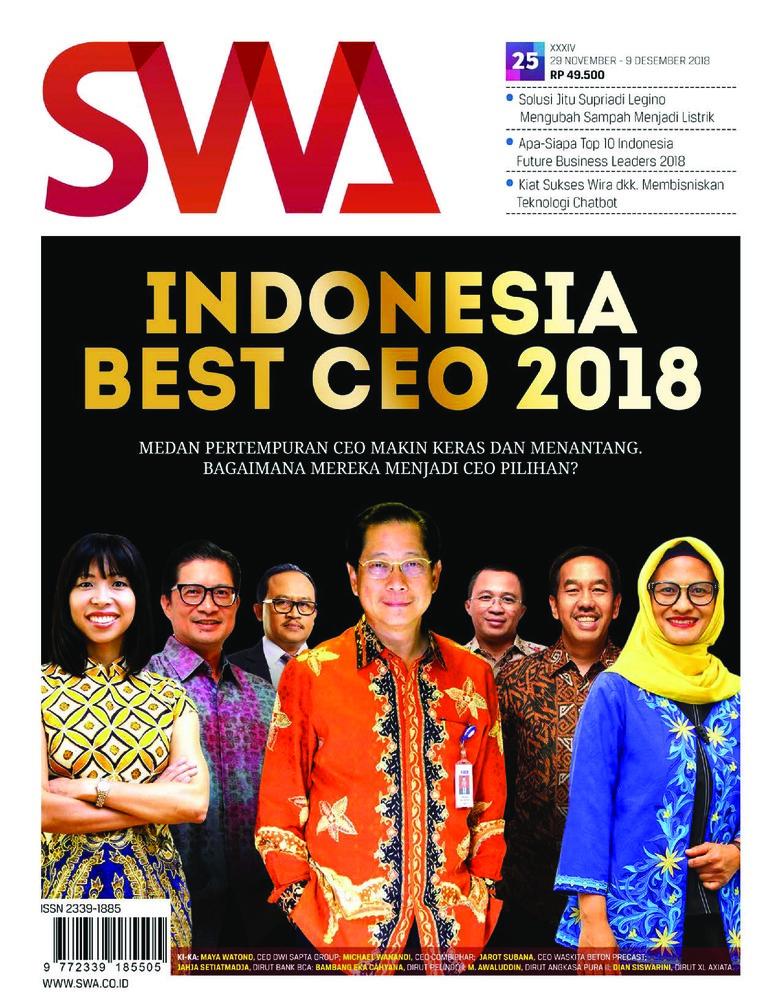 Majalah Digital SWA ED 25 November 2018