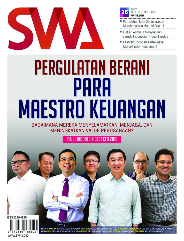 Majalah Digital SWA ED 26 Desember 2018