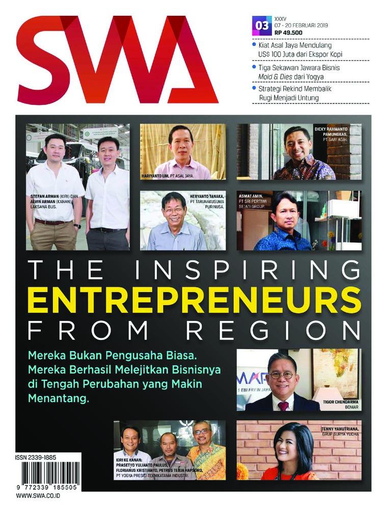Majalah Digital SWA ED 03 Februari 2019