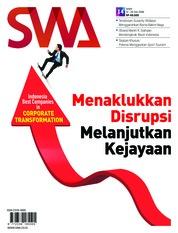 Cover Majalah SWA ED 14 Juli 2018