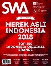 Cover Majalah SWA ED 16 Agustus 2018