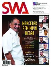 Cover Majalah SWA ED 20 Oktober 2018