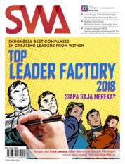 Cover Majalah SWA ED 22 Oktober 2018