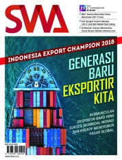 Cover Majalah SWA ED 23 November 2018