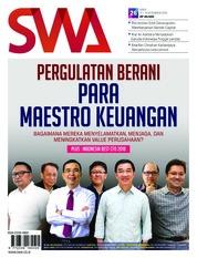 Cover Majalah SWA ED 26 Desember 2018