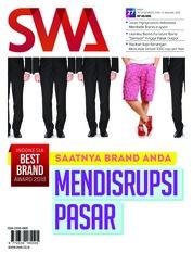 Cover Majalah SWA ED 27 Desember 2018